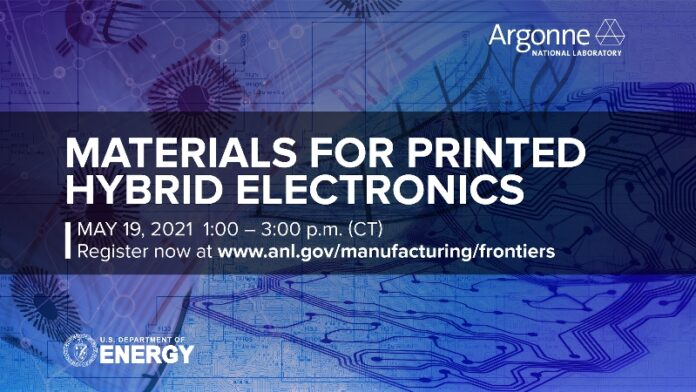 DOE - Argonne - webinar announcement