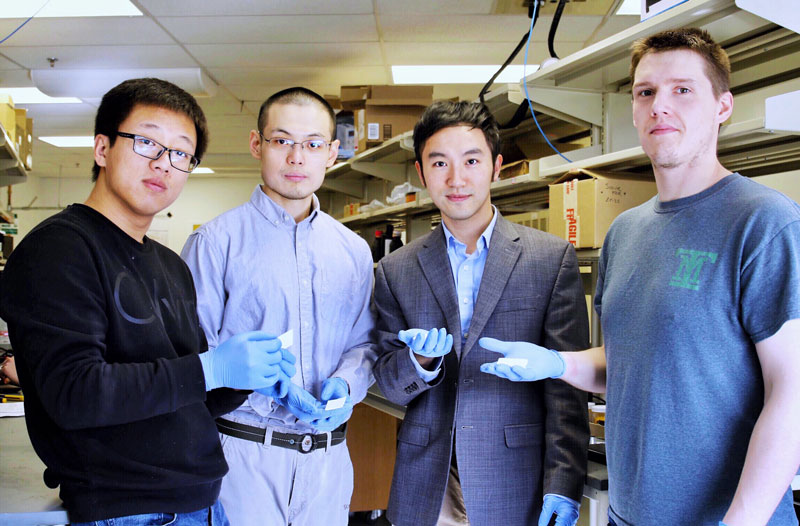 Virginia Tech Team Develops Model to 3D-Print Piezoelectric