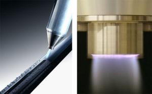 narrow nozzle electrode
